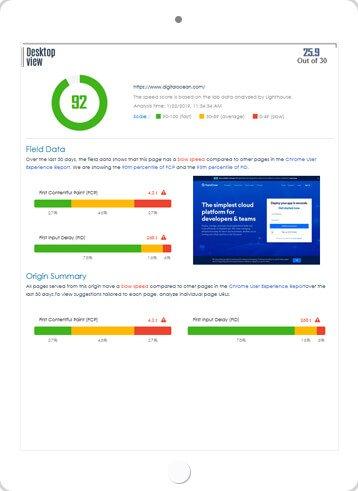 Website Audit Score