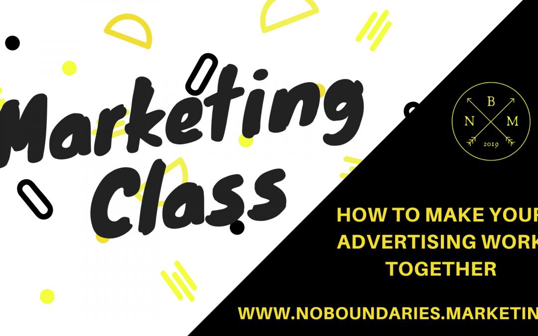 October Webinar: How To Make Your Advertising Work Together