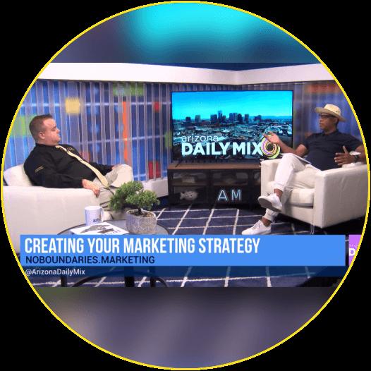 Brad Perry on AZTV! - No Boundaries Marketing Group
